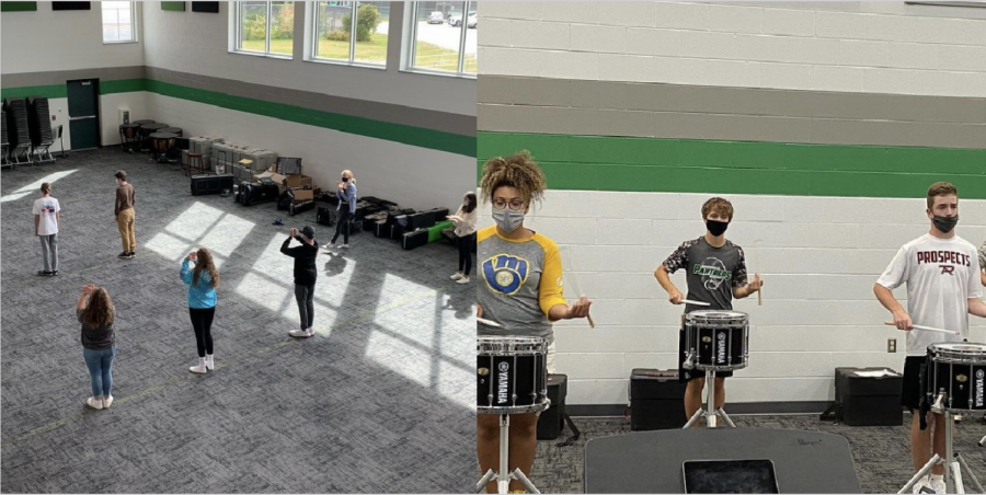 Greendale Marching Band prepares for a new show